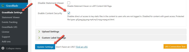 GrassBlade Content Security