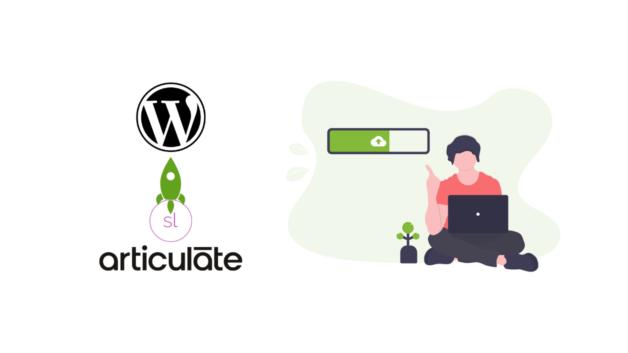 Articulate Storyline 360 Content on WordPress