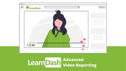 Learndash LMS advanced video reporting