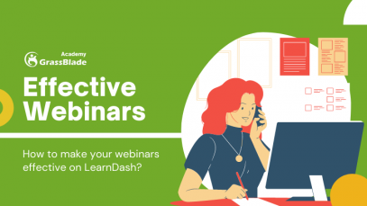 Effective webinars on LearnDash LMS