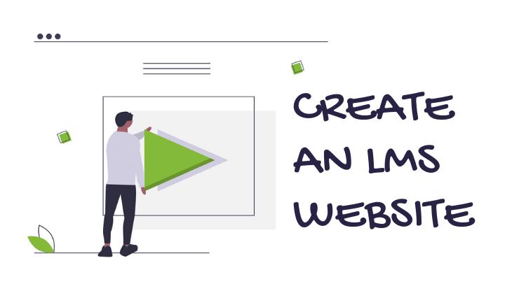 LMS Website in WordPress