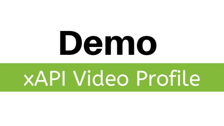 demo xapi video profile