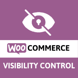 visibility control for woocommerce